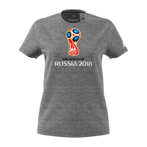 Women's adidas FIFA World Cup Soccer Graphic Tee