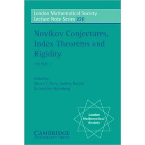 Novikov Conjectures, Index Theorems, and Rigidity, Volume 1: Oberwolfach 1993
