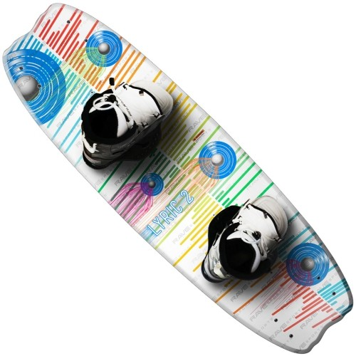 Rave Sports Lyric 2 Wakeboard with Advantage Boots