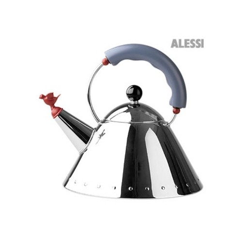 Stainless Steel Kettle with Bird Shape Whistle
