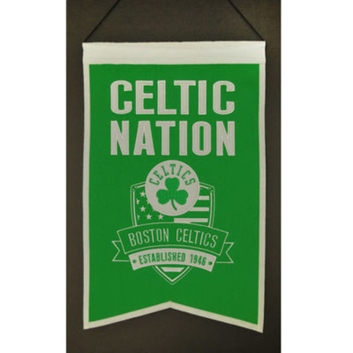 NBA Boston Celtics Nations Banner