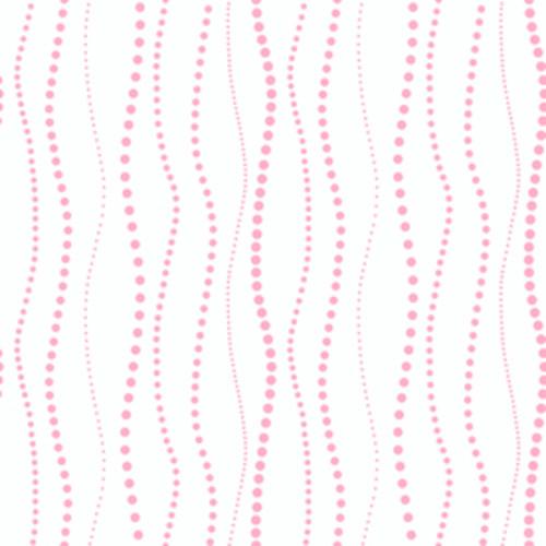 York Wallcoverings Peek-A-Boo Pink Paper Stripes Wallpaper