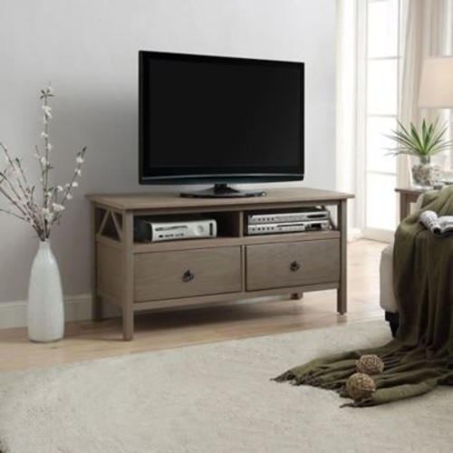 Titian TV Stand in Rustic Grey