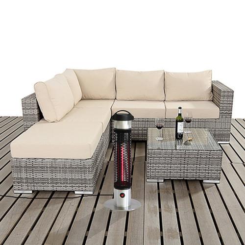 EnerG+ HEA-21212 1000 Watts Portable Indoor/ Outdoor Electric Infrared Heater