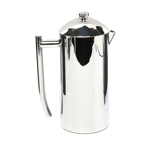 Frieling USA Double Wall Stainless Steel French Press Coffee Maker with Patented Dual Screen, Polished, 36-Ounce [Frustration-Free Packaging, 36-Ounce, Standard- Polished]