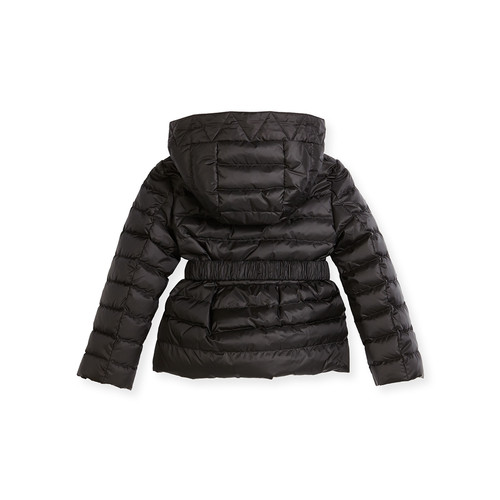 BURBERRY Janie Hooded Puffer Jacket, Pink/Purple, Size 4-14