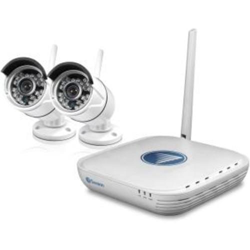 Swann SWNVK-460KH2 - DVR + camera(s) - wireless - 4 channels - 1 x 500 GB - 2 camera(s)