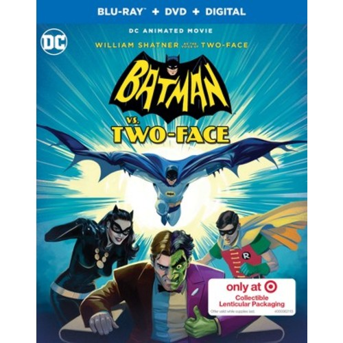 Batman VS. Two-Face Target Exclusive: Collectible Lenticular Packaging (Blu-ray + DVD + Digital)