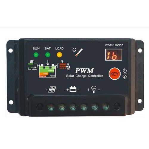 10A Solar Charge Controller Auto Switch Solar Panel