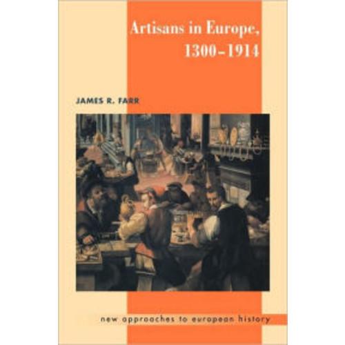 Artisans in Europe, 1300-1914