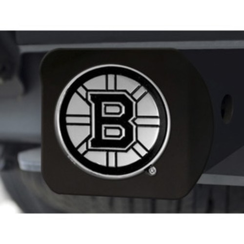 NHL - Boston Bruins Black Hitch Cover 4 1/2