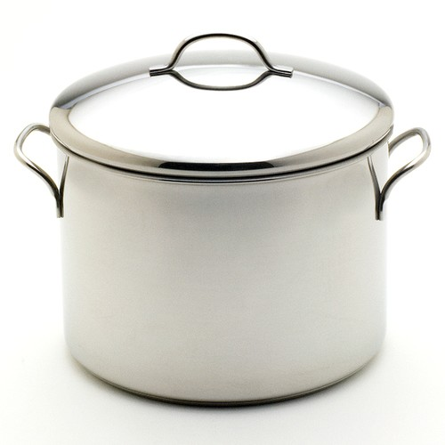Farberware Classic Series 12 Qt. Stainless Steel Stock Pot with Heat Resistant