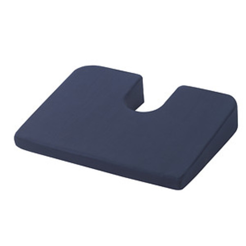 Drive Medical Compressed Coccyx Cushion, Blue
