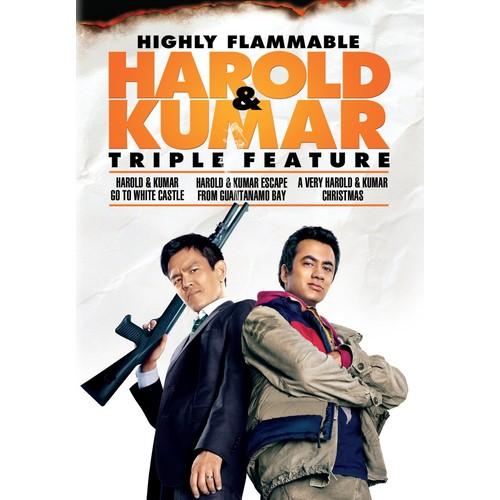 Highly Flammable Harold & Kumar Triple Feature [3 Discs] [DVD]