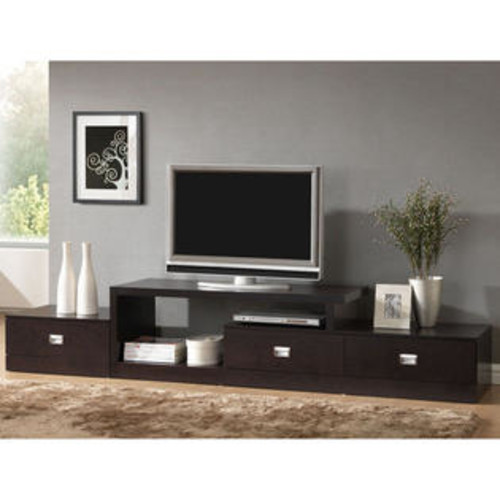 Baxton Studio Marconi Asymmetrical Modern TV Stand