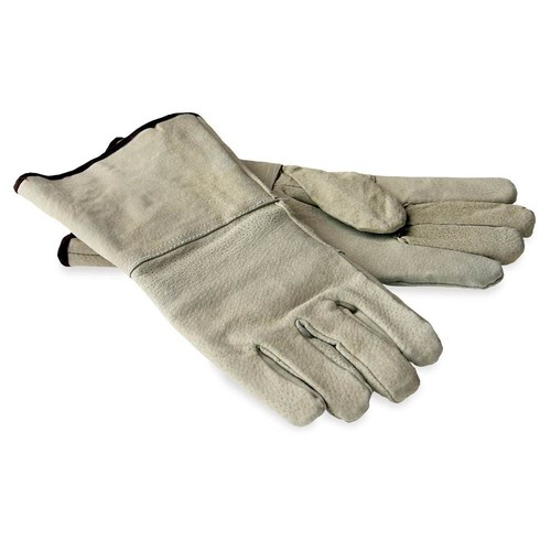 Protective Leather Gloves for Fireplaces