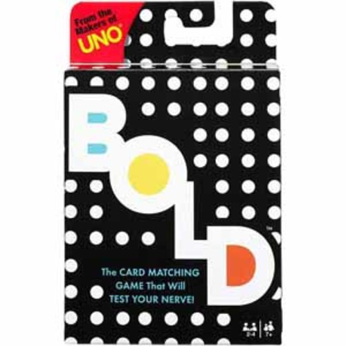 Mattel Bold Card Game
