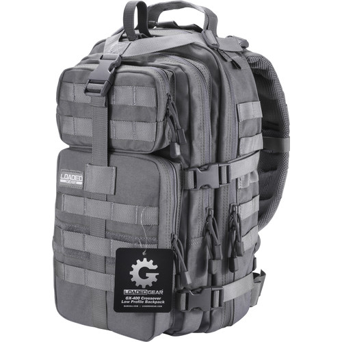 Barska Loaded Gear GX-400 Crossover Backpack (Gray)