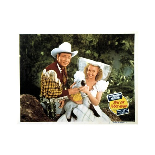 Roll On Texas Moon Roy Rogers Dale Evans 1946 Movie Poster Masterprint (14 x 11)