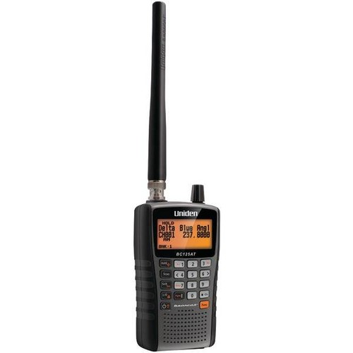 Uniden BC125AT: Public Safety, Military Aircraft, Racing Scanner with Alpha Tags and 500 Channels