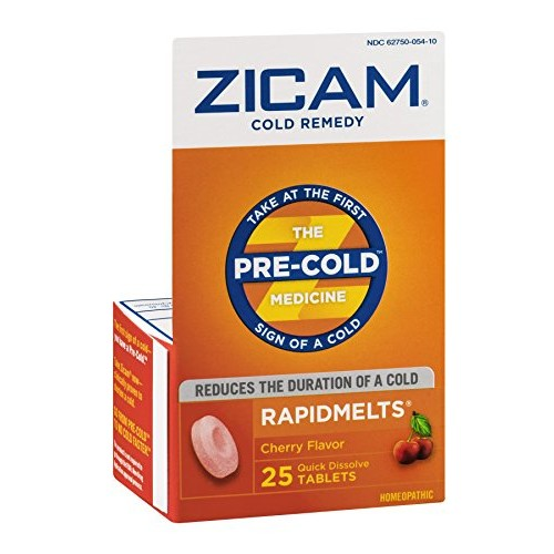 Zicam Cold Rapid Melt Chr Size 25ct