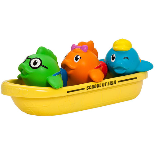 Munchkin School of Fish Bath Toy Set