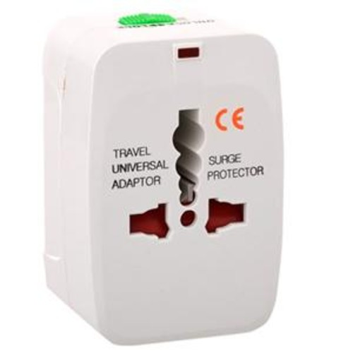 Adorama All In One Travel Plug Adapter for Europe Asia and Middle East ZZGST