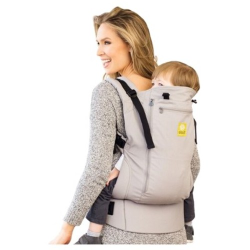 LILLEbaby CarryOn All Seasons Carrier - Stone Gray