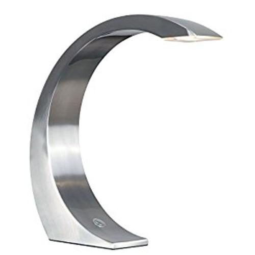 Kenroy Home 32037BS Slide Desk Lamp, 13-Inch, Brushed Steel [Brushed Steel Finish]