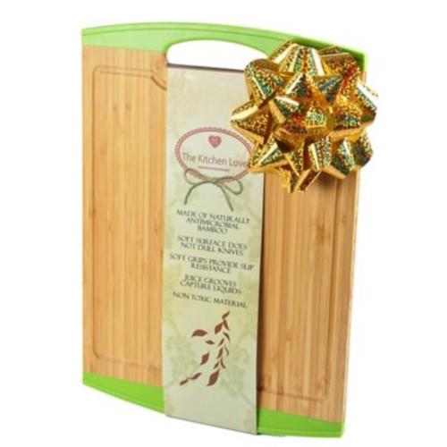 The Kitchen Love Natural Bamboo Cutting Board; Green
