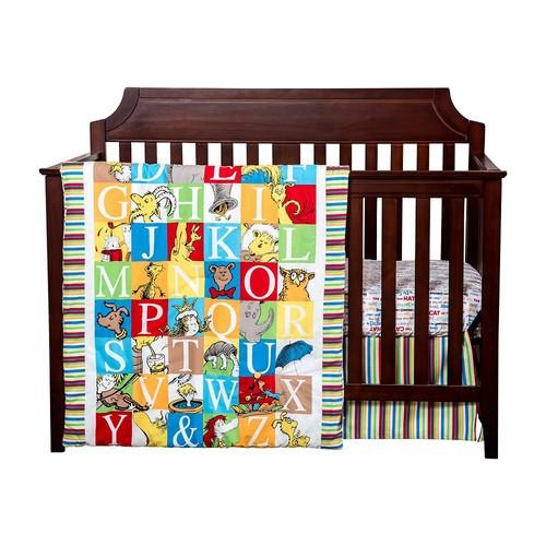 Dr. Seuss Alphabet Seuss 3-pc. Crib Bedding Set by Trend Lab