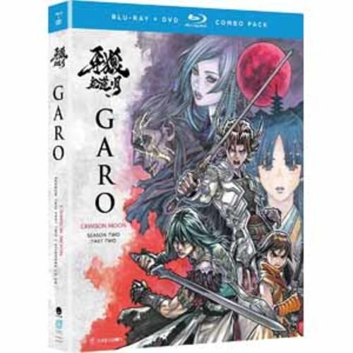 Garo: Crimson Moon - Season Two Part Two [Blu-Ray] [DVD]