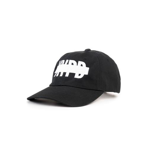 The NYPD Dad Hat in Black
