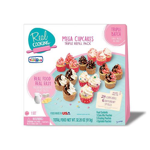 Real Cooking Mega Cupcake Triple Refill Pack