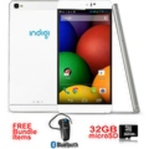 Indigi 6.0inch Factory unlocked 3G Smartphone Android 5.1 SmartPhone + WiFi + Google Play + Bundle Included - White
