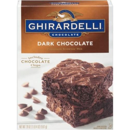 Ghirardelli Dark Chocolate Brownie Mix - 20 oz.