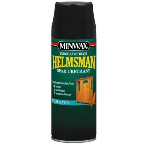 Minwax 11.5 oz. Clear Helmsman Indoor/Outdoor Spar Urethane Aerosol Spray (6-Pack)