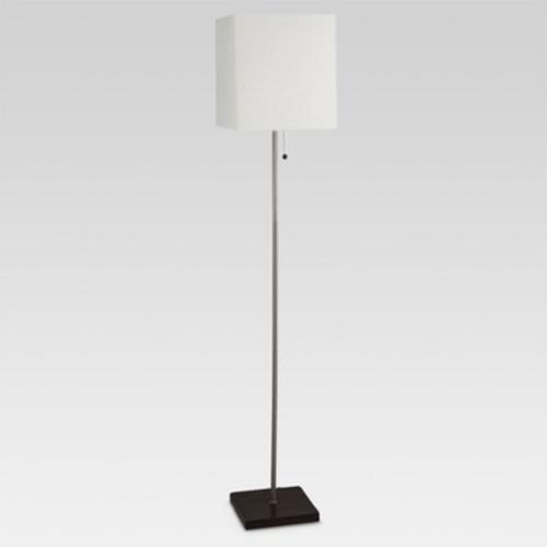 Square Stick Floor Lamp Silver - Threshold