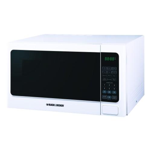 Black & Decker 1.1 Cu. Ft. 1000 W White Microwave