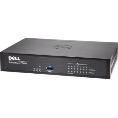 SonicWALL TZ400 Network Security/Firewall Appliance w/ TotalSecure (1Yr)