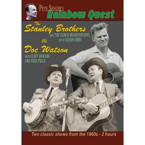 Pete Seeger's Rainbow Quest - The Stanley Brothers and Doc Watson: Fred Price, Clint Howard, Doc Watson, Pete Seeger, Ralph Stanley: Movies & TV