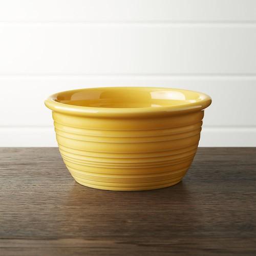 Farmhouse Yellow Cereal Bowl