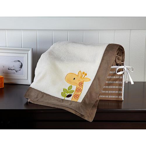 NoJo Zoobilee Baby Blanket