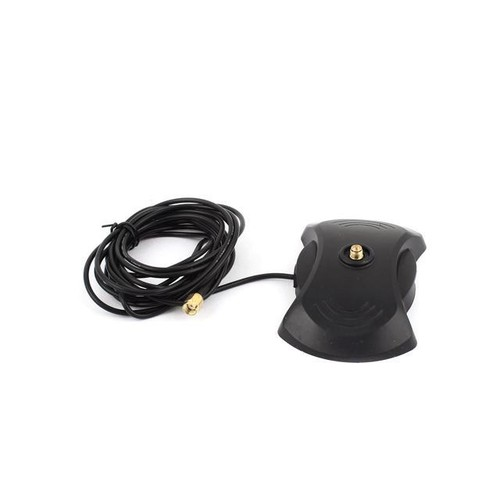 Global Bargains 3.0M RP-SMA Male Cable w RP-SMA Female Car GPS Magnet Base Antenna Connector