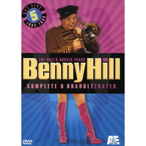 Benny Hill Complete and Unadulterated: The Hill's Angels Years - Set 5