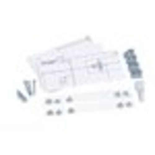 GE - Under-Cabinet Mounting Kit for Select Microwaves - Silver