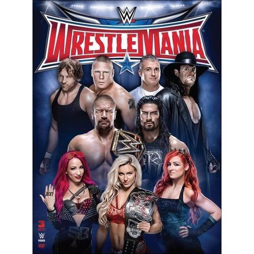 WWE: Wrestlemania XXXII [3 Discs] [DVD] [2016]