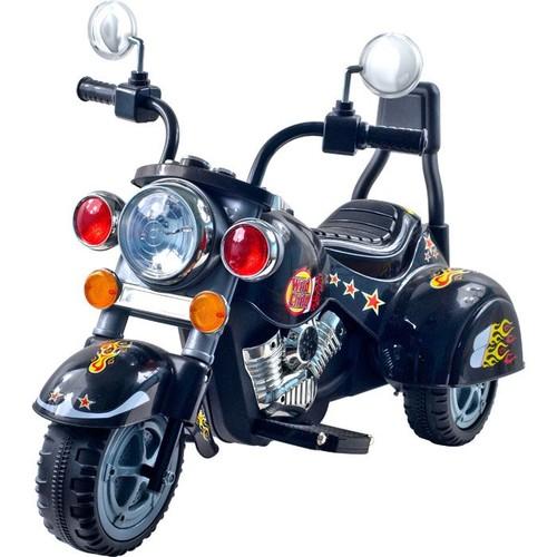 Lil' Rider Wild Child Motorcycle 6V Black - Three Wheeler