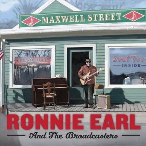 Ronnie and the earl - Maxwell street (CD)