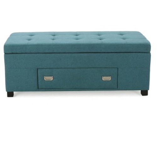 Bluebell Storage Ottoman - Christopher Knight Home